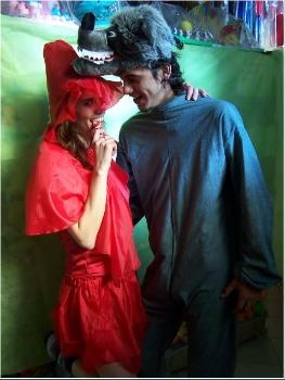 Valentino Cotillon - Disfraz de Caperucita y el Lobo 6983b3ff792