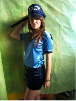 Valentino Cotillon - Disfraz de Mujer Policia 3fd3024e433
