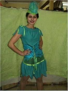 Valentino Cotillon - Disfraz de Robin Hood mujer 9538a7fdccc